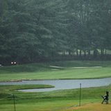 Storms interrupt PGA Championship at Baltusrol