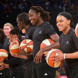 WNBA withdraws fines for teams that wore black warmup shirts