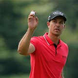 The Latest: Stenson ties for the lead at PGA