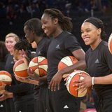 WNBA president talks about fining players over warmup shirts