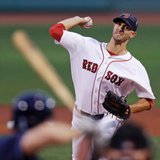 Porcello majors' 1st 18-game winner, Red Sox beat Rays 9-4