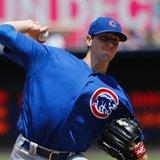 Major league ERA leader Hendricks pitches Cubs past Padres