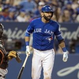 Bautista returns to Blue Jays' lineup against Angels