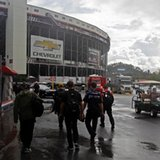 Sprint Cup race at Bristol delayed again