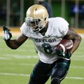 Baylor wide receiver Ishmael Zamora runs the ball during a NCAA college football intrasquad scrimmage Friday, March 20, 2015, in Waco, Texas.