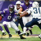 Vikings QB Bridgewater goes down in practice with injury