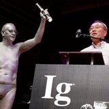 Scholars who studied liars, put pants on rats win Ig Nobels