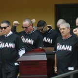 Marlins' Fernandez remembered as larger than life at funeral