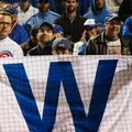 Chicago Cubs Fans celebrate after Game 6 of the National League baseball championship series against the Los Angeles Dodgers, Saturday, Oct. 22, 2016, in Chicago. The Cubs won 5-0 to win the series and advance to the World Series against the Cleveland Indians. (AP Photo/Nam Y. Huh)