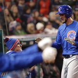 The Latest: Cubs break through vs Bauer, lead 2-0 in Game 2