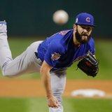 Arrieta deals, Cubs awaken, top Indians to even Series at 1