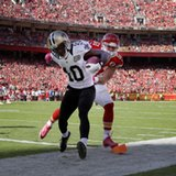 The Latest: Saints score TD on 4th straight opening drive