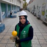 With every turn of a wrench, Jordanian woman breaks barriers