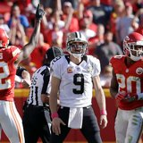Saints' Drew Brees comes up short again in road defeat