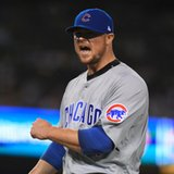 The Latest: Schwarber coming to Cleveland
