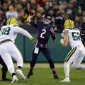 Chicago Bears quarterback Brian Hoyer (2) throws during the first half of an NFL football game against the Green Bay Packers, Thursday, Oct. 20, 2016, in Green Bay, Wis. (AP Photo/Kiichiro Sato)
