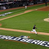 Baseball hopes to beat rain, get in Game 2 of World Series