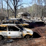 Within hours, wildfires set Tennessee mountain city aflame
