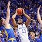 No. 11 UCLA upsets top-ranked Kentucky 97-92