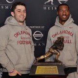 Heisman Trophy: Sooner teammates are rare pair of finalists