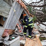 'The windows exploded': Storm death toll at 20 in the South