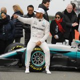 Hamilton ready to get back on track with new Mercedes F1 car