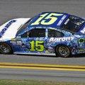 Michael Waltrip (15) drives his car during the NASCAR Daytona 500 auto race at Daytona International Speedway in Daytona Beach, Fla., Sunday, Feb. 26, 2017. (AP Photo/Darryl Graham)