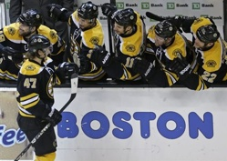 Bruins Send Rangers Packing