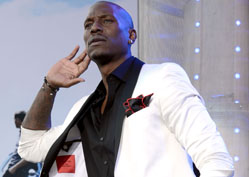 What Makes Tyrese Gibson Blush?