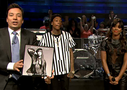 Kelly Rowland & Wiz Khalifa Rock Fallon