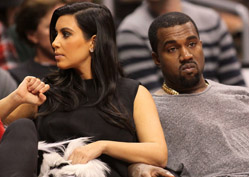 Kanye Denies Cheating on Kim