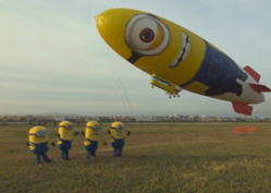 Timelapse and Launch Despicablimp