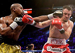 Mayweather Outclasses 'The Ghost'