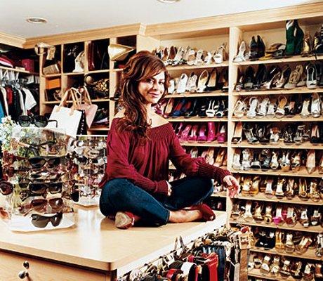 Paula Abdul closet