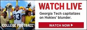 Watch Live: Georgia Tech-Virginia Tech