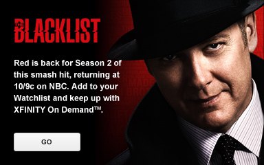 DVR 'The Blacklist'