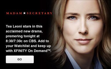 DVR 'Madam Secretary'