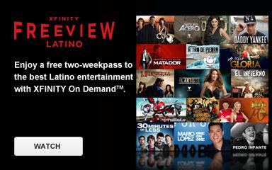 Latino Freeview week