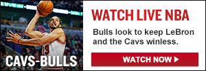 Watch Live: Cavs-Bulls