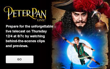 'Peter Pan Live!'