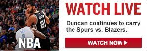 Watch Live: Blazers-Spurs