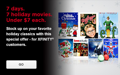 7 Days of Christmas Movie Sale