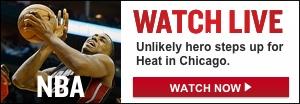 Watch Live: Heat-Bulls