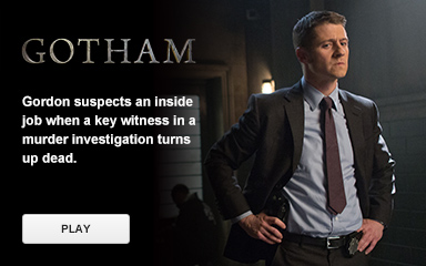 Watch 'Gotham'