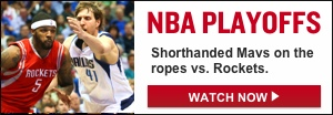 Watch Live: Mavericks-Rockets