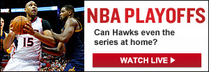 Watch Live: Cavs-Hawks