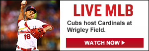 Watch Live: Cardinals-Cubs