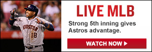 Watch Live: Angels at Astros
