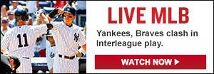 Watch Live: Yankees vs. Braves