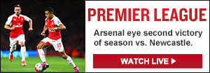 Watch Live: Newcastle United vs. Arsenal